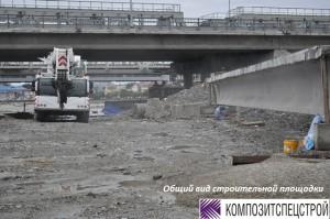 Усиление конструкций пролетного строения моста 4
