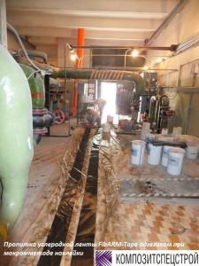 Ремонт и усиление перекрытия технического подполья центрального теплового пункта 10