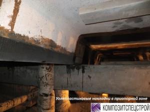 Ремонт и усиление перекрытия технического подполья центрального теплового пункта 12