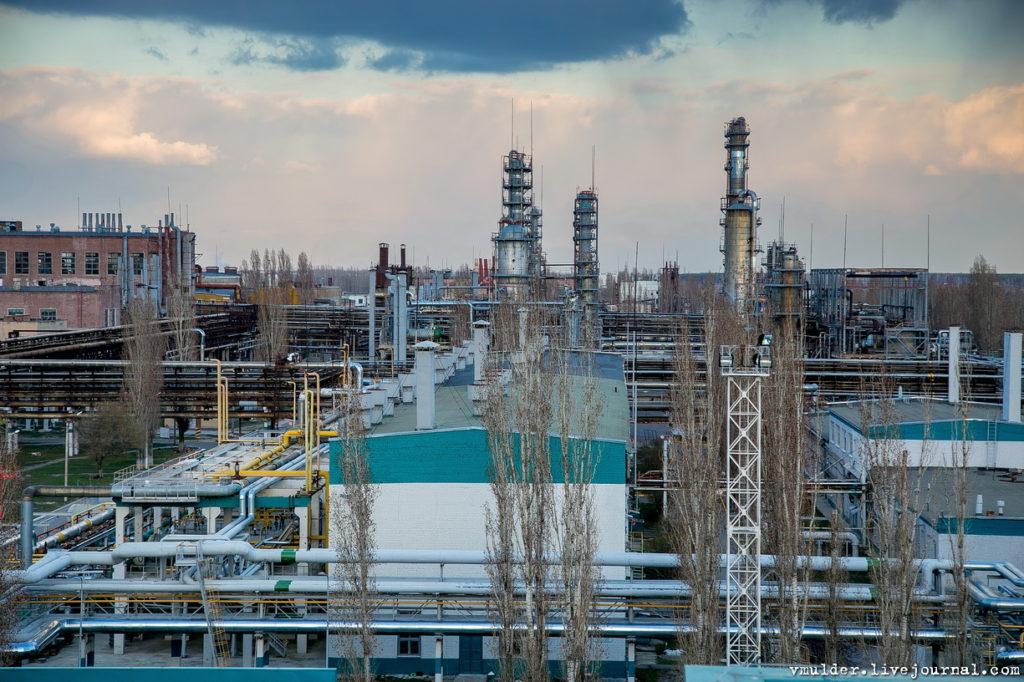 Ремонт строительных конструкций на АО «Воронежсинтезкаучук
