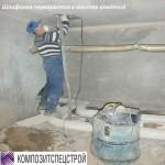 Гидроизоляция технического подполья и усиление плит перекрытий жилого дома 11