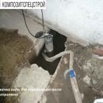 Гидроизоляция технического подполья и усиление плит перекрытий жилого дома 2