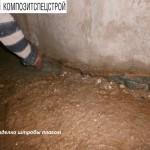 Гидроизоляция технического подполья и усиление плит перекрытий жилого дома 8
