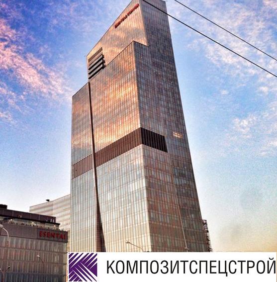 Усиление конструкций бизнес-центра Esentai Tower