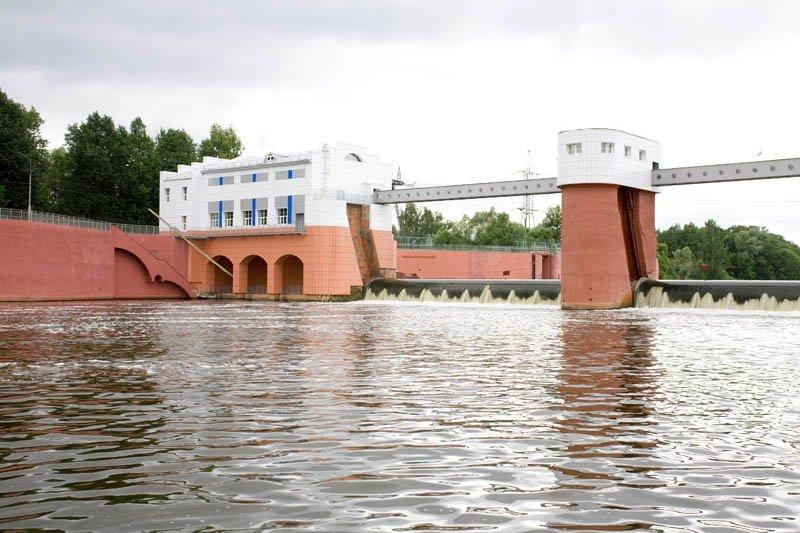 Здание насосной станции Колочь, АО Мосводоканал, 2015 1