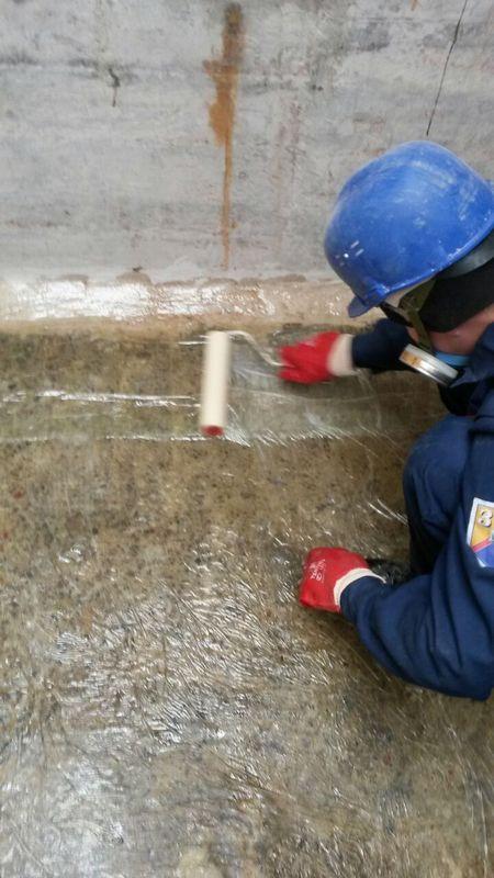 Ремонт емкостей раствора соли Смоленской атомной станции 3