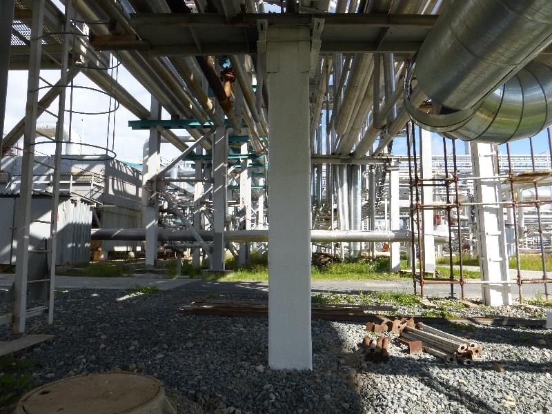 Усиление конструкций эстакады тепломатериалопроводов АО СибурТюменьГаз 3