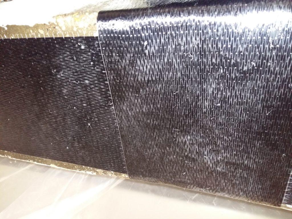 Армирование плит углепластиком