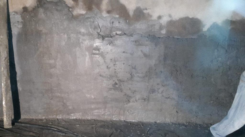 Армирование и бетонирование водосборной галереи