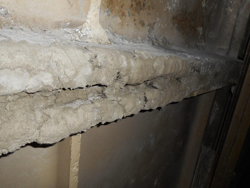 Бетонные конструкции до ремонта