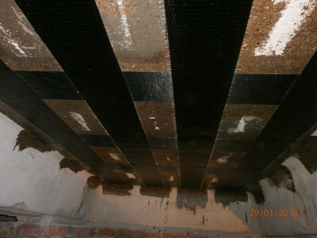 Восстановление конструкций с помощью композитных материалов