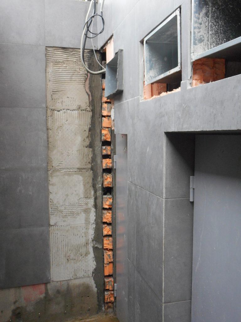 Монтаж гидроизоляционной шпонки